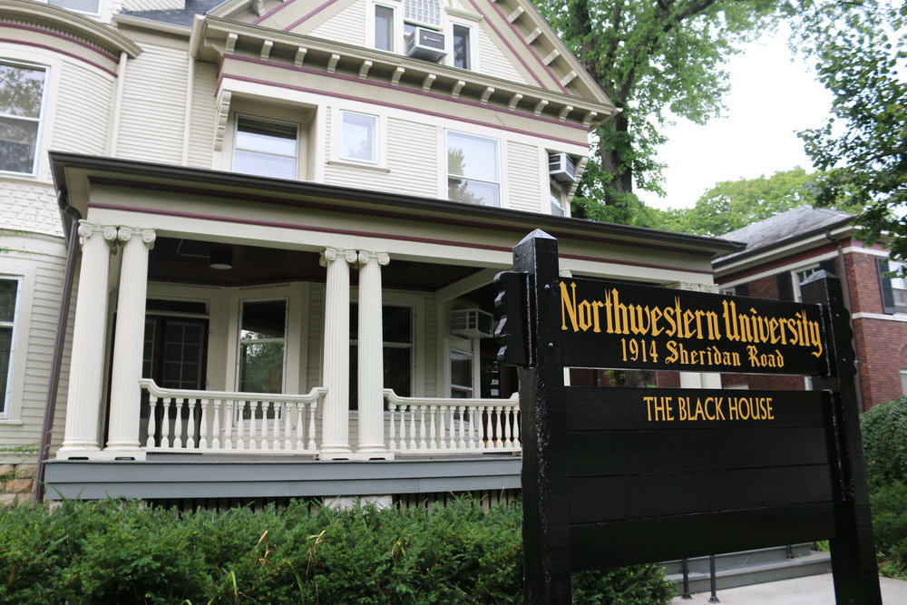 black house with porch black house listening sessions begin october 14 northwestern