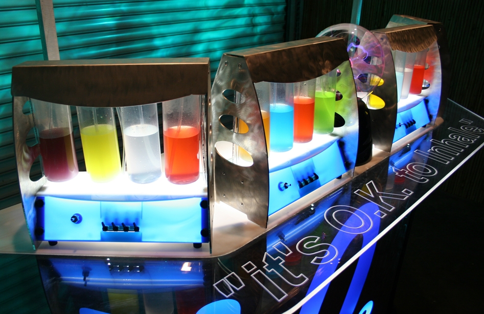 An oxygen bar just waiting to be used by Northwestern Students