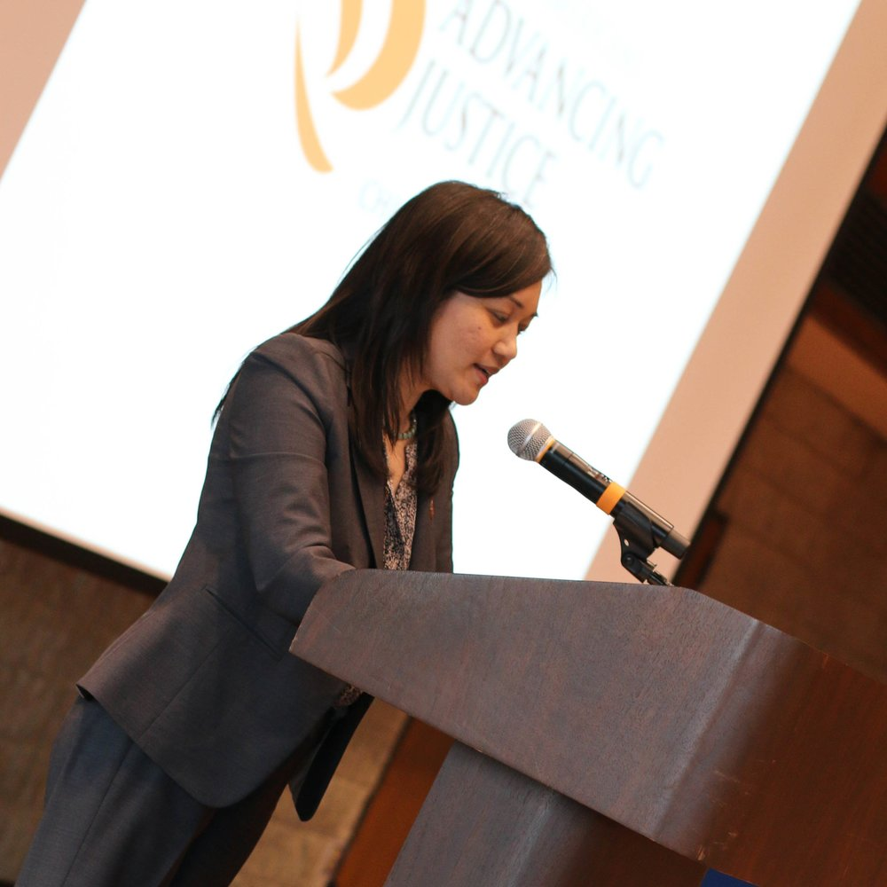 Tuyet Le of  Asian Americans Advancing Justice | Chicago  was last year's keynote speaker