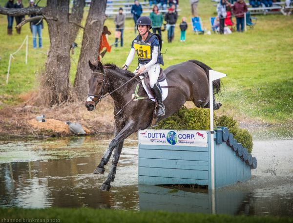 Jenny Caras and Fernhill Fortitude. Photo by: Shannon Brinkman