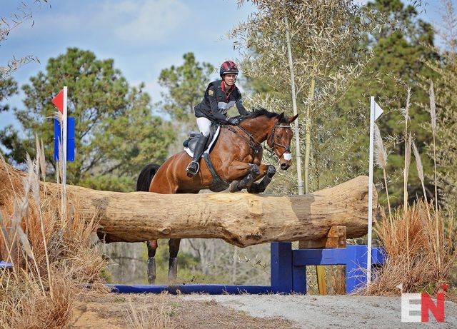 "Caroline Martin and The Apprentice ""Dirk"" at the Carolina Horse Park. Photo: Jenni Autry/EN"