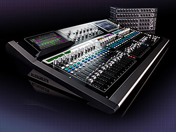 Digital mixing system for live touring, rental, houses of worship and installation.