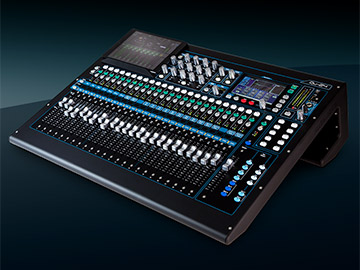 Compact digital mixers for live, studio and installation