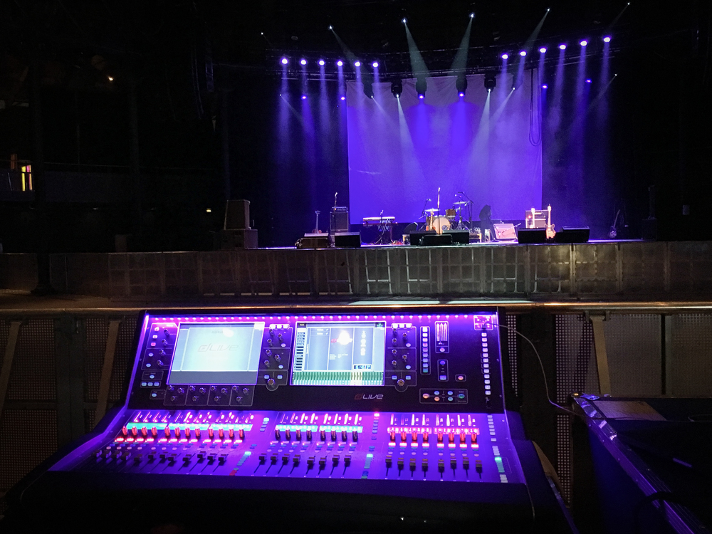 DLive S5000 at The Roundhouse
