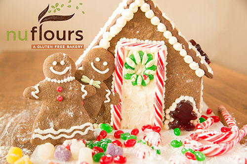 Gingerbread House Kits - baked pieces, frosting and candy, just build then eat!