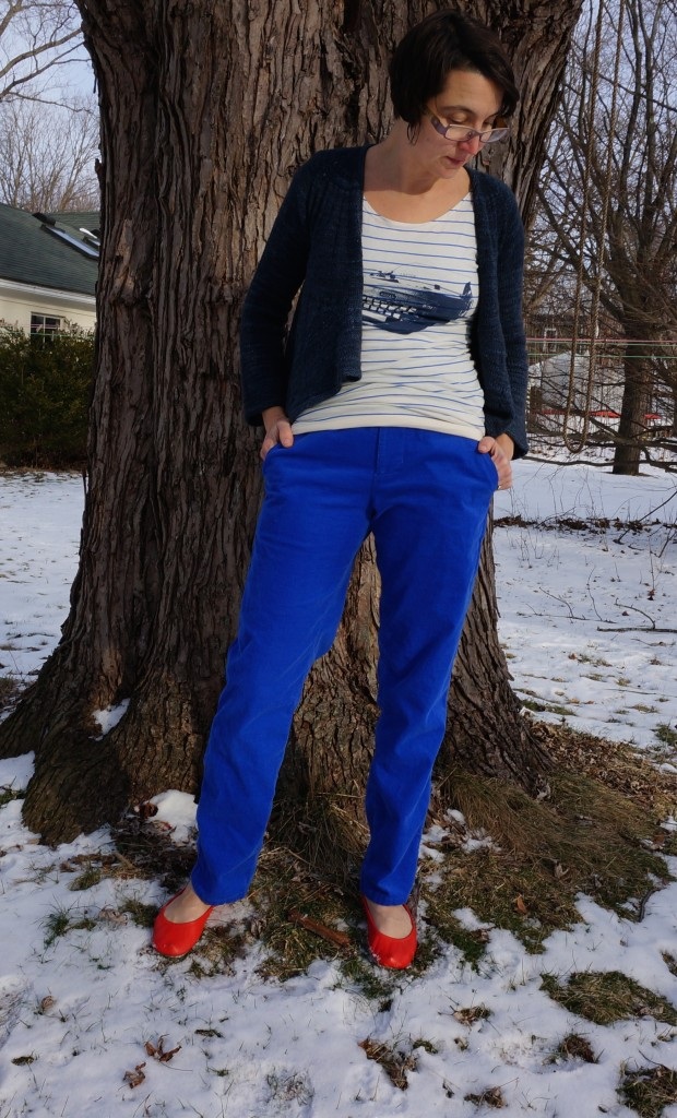 Zippered Pants made by Giedra Bowser, formerly of Thread n Honey
