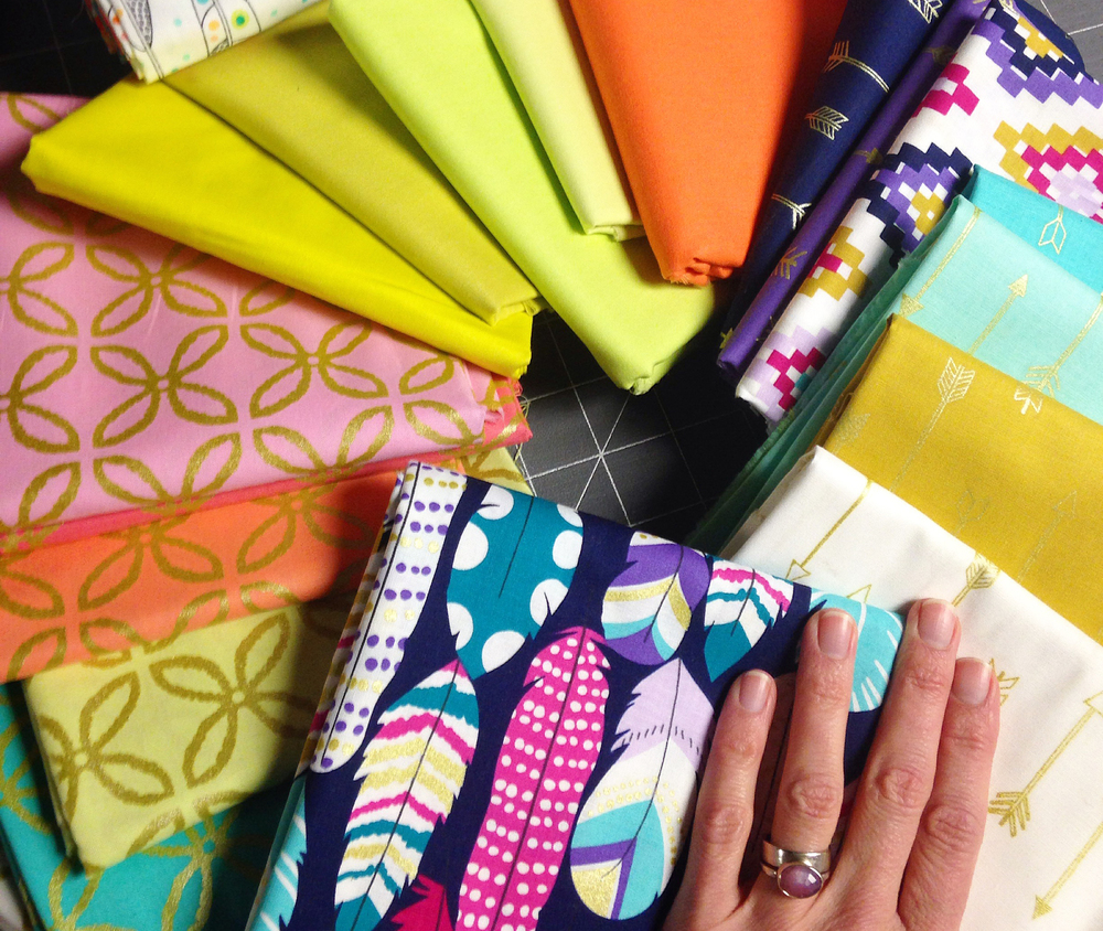 Michael Miller Fabric Winnings from Sewtopia Spring 2015 Award