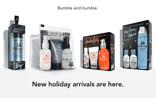 bumble holiday packs