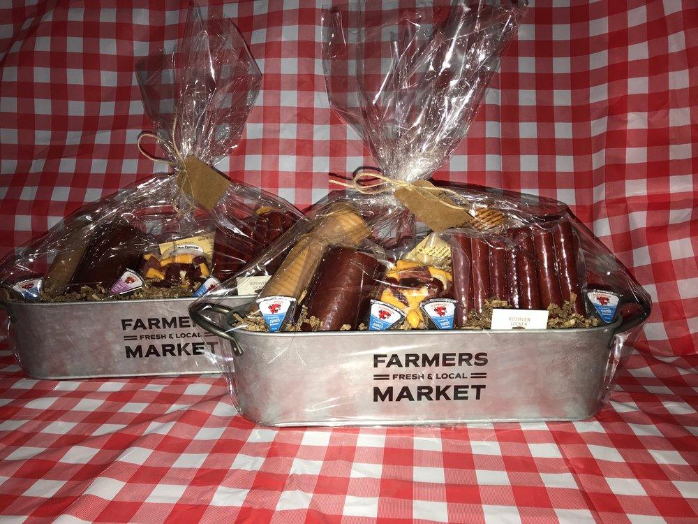 Farmers Market Meat Bucket