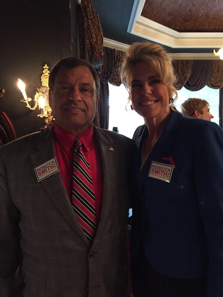 Incredible honor having former General Tanker Snyder's support.