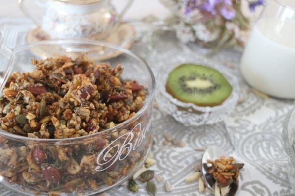 granola sans gluten