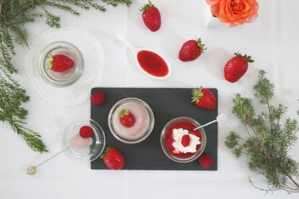 tofu fraises