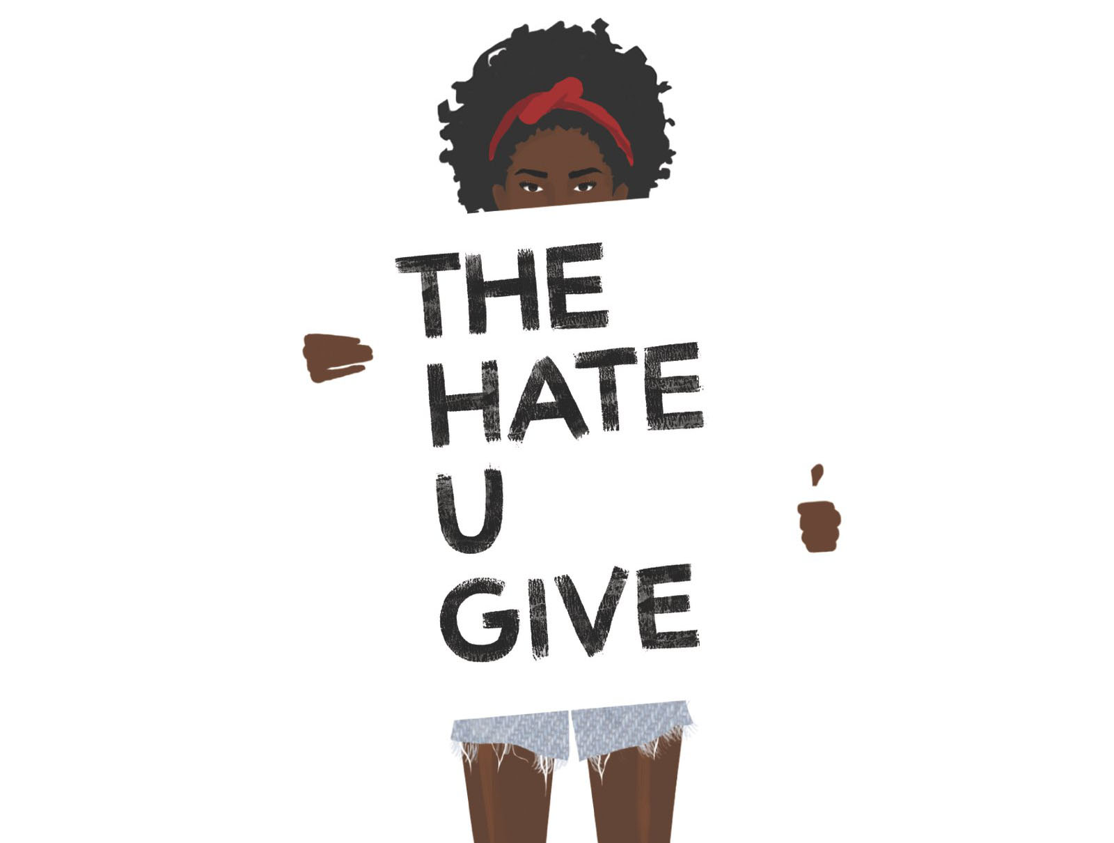 Spine Designing The Cover For The Hate U Give