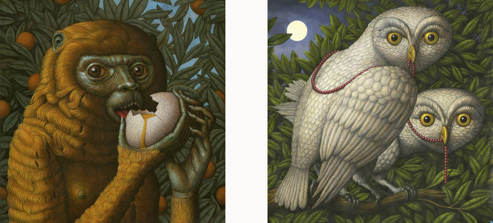 Sepulchre and Nightwatchers by Marc Burckhardt