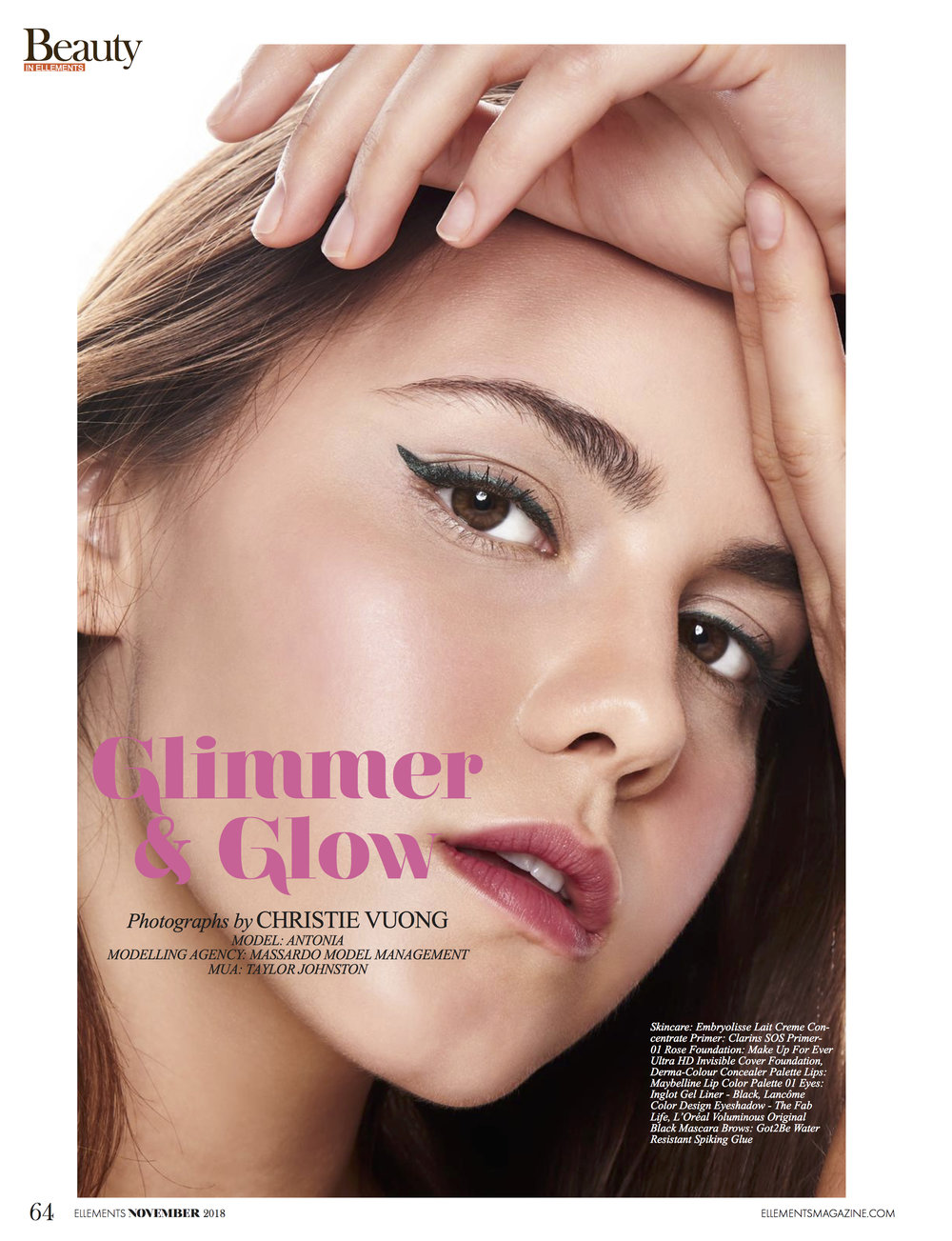 Elléments Magazine - Glimmer & Glow
