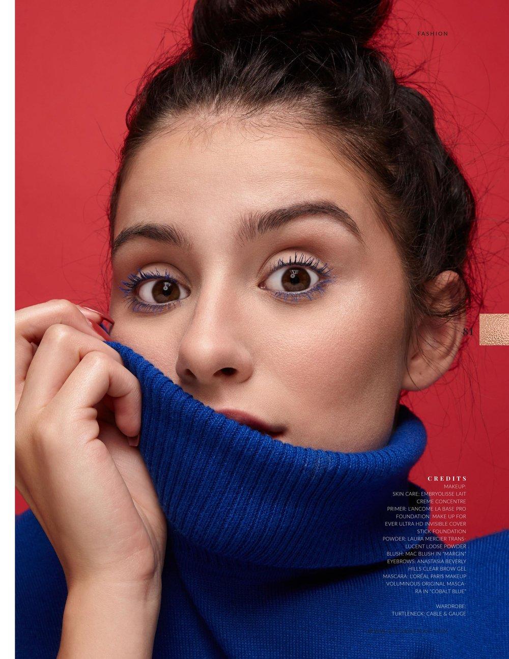 Elegant Magazine - Bleu, Blanc et Rouge