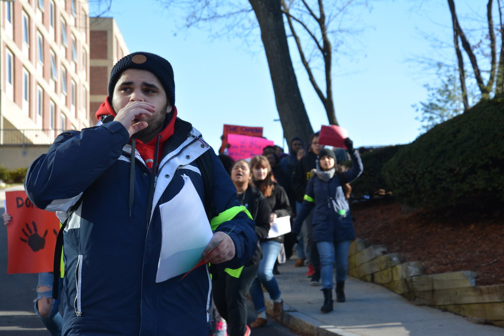 Framingham State University Civil Rights Protest 2015