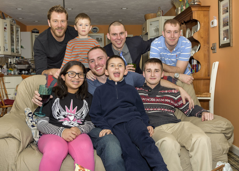 Cousins Family Portrait