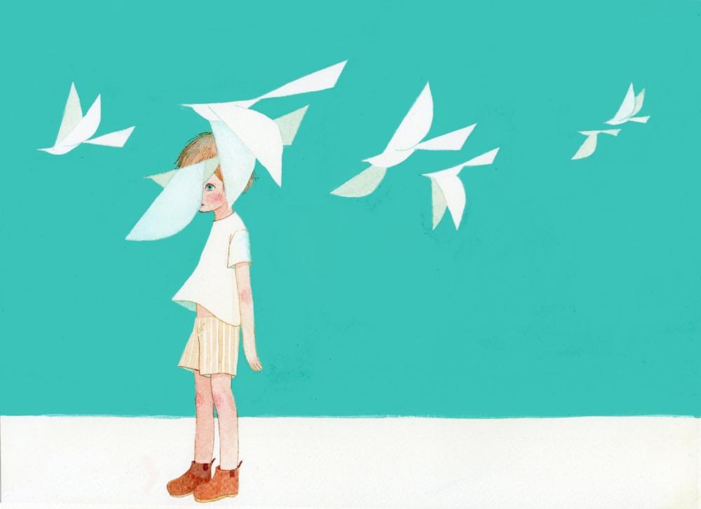 Boy and the Bird