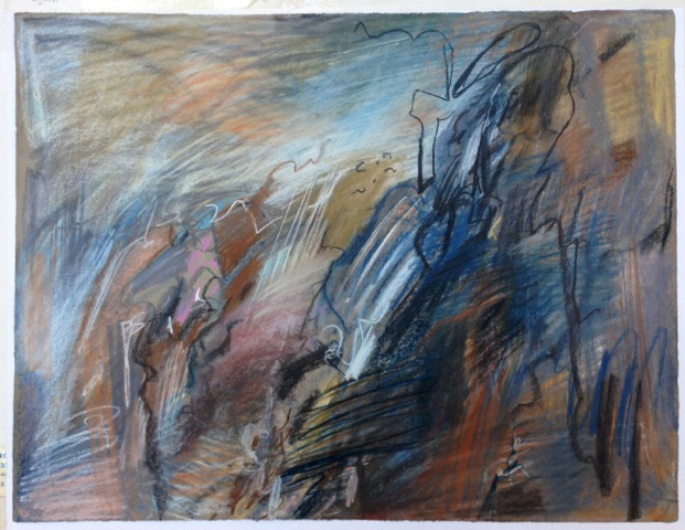Pastel on grey paper, 48,5x63cm, 1993.jpeg