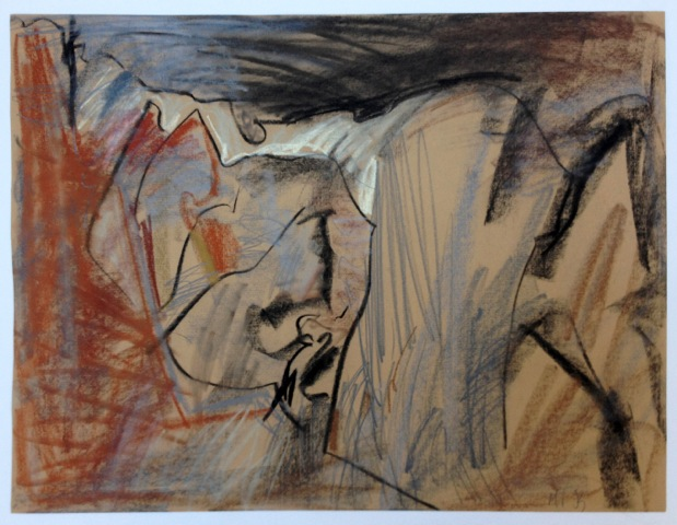 Pastel on ocher paper , 46x60 cm, 1993.jpeg