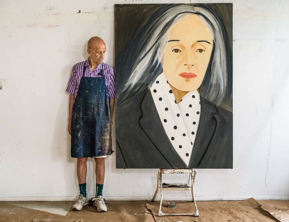 Alex Katz's Life in Art - August 27, 2018By Calvin Tomkins