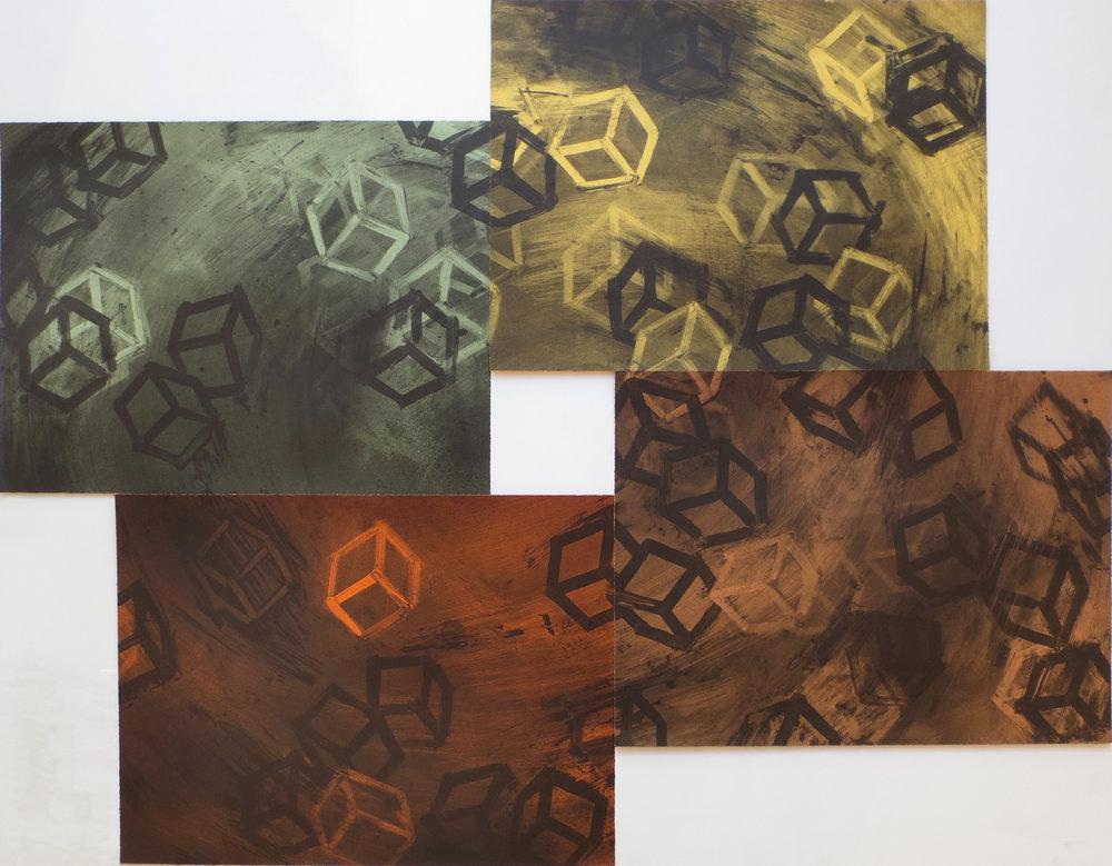 Four Color Quartets, Second Quartet