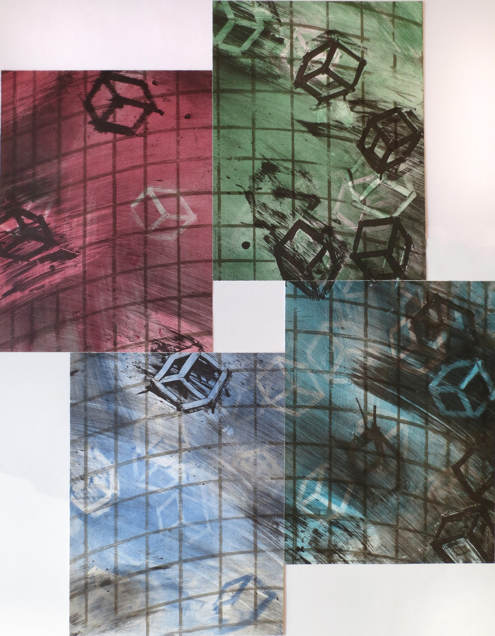 Four Color Quartets, Third Quartet