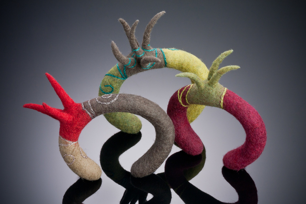 3 Spike Cuffs