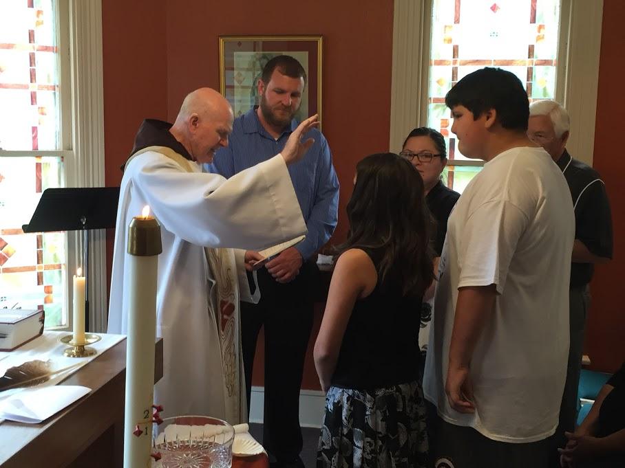 Baptism of Gavin & Elle