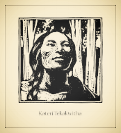 St. Kateri Tekakwitha is our first canonized Native American saint. Please pray for us, dear Kateri.    https://youtu.be/sH-Z7YEndYk