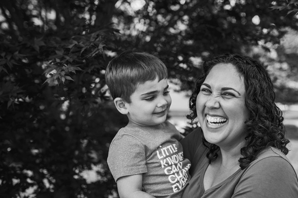 When your son looks at you like you are the world during your session you know you will share the images with your family in Richmond and beyond.