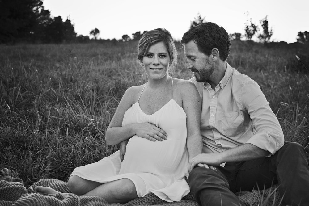Maternity images with your husband so you can share your preganancy announcement with friends and family.