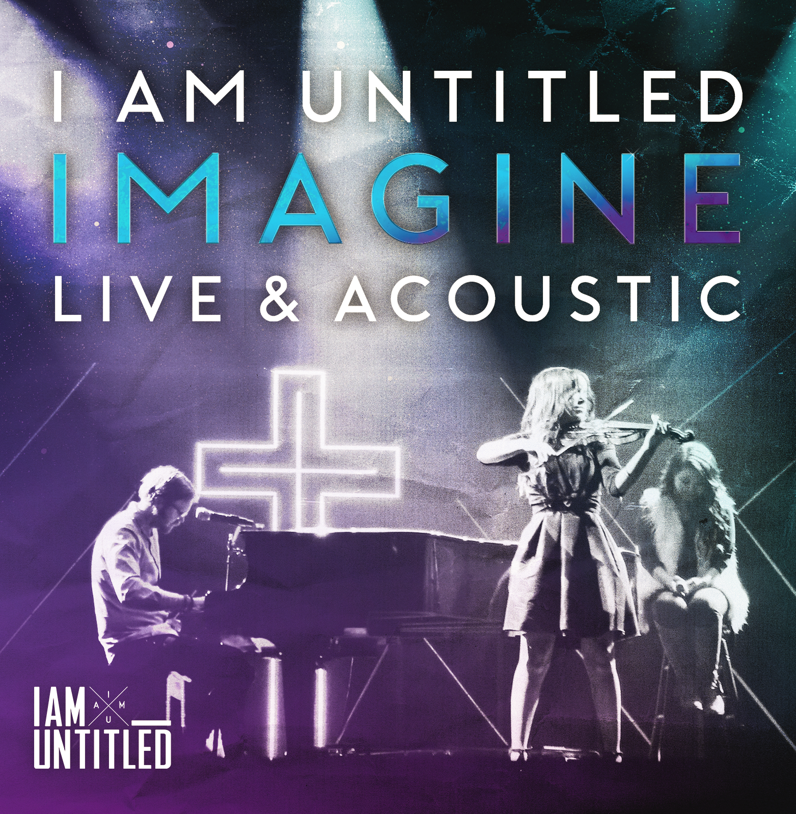 IMAGINE Live & Acoustic CD (Free Shipping) — I Am Untitled