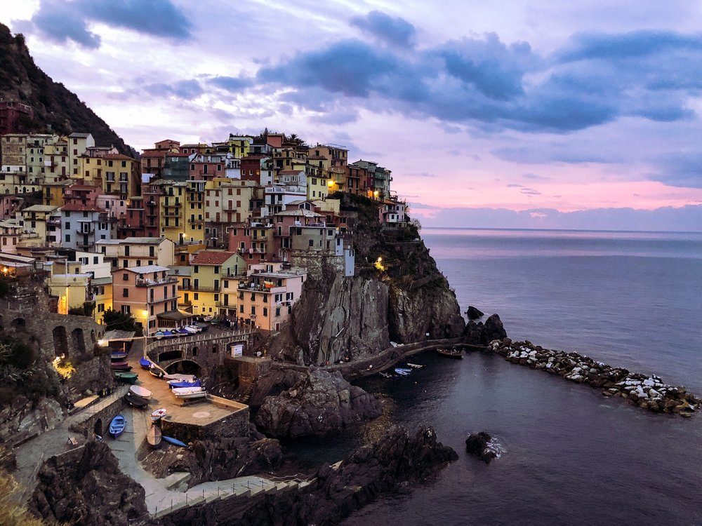 Manarola Sunrise - One of those out of pocket moments.