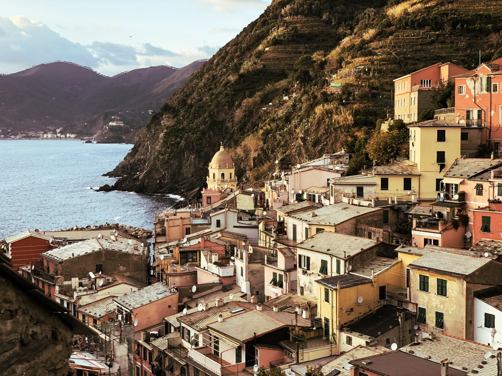 Vernazza with the nifty-fifty.