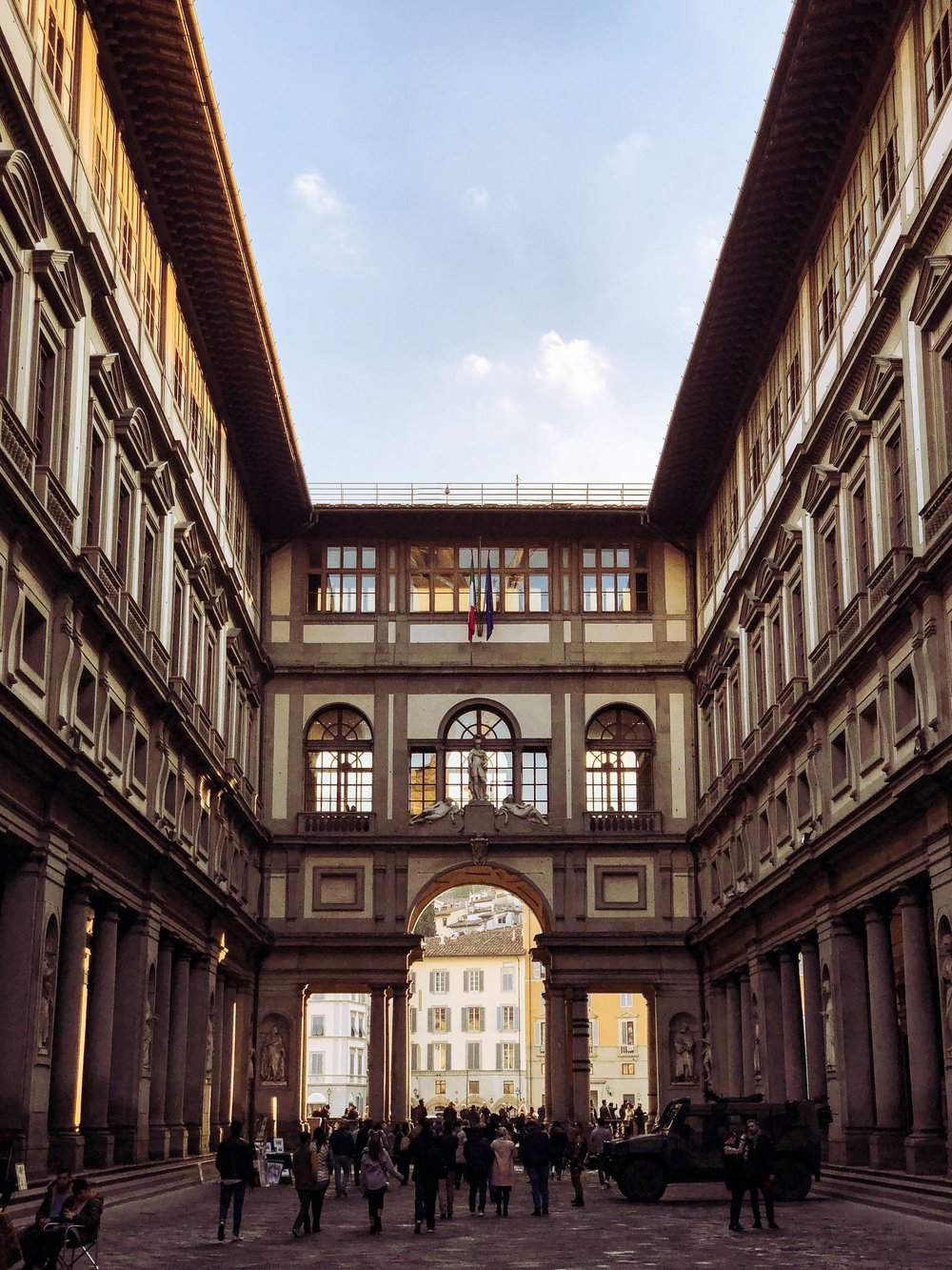 Uffizi with the nifti-fifti.