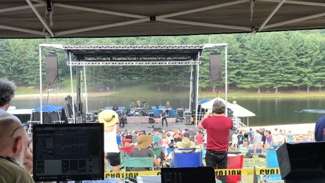 We had a great time providing sound and lights for 38 Special at the annual MDA Bike Run!