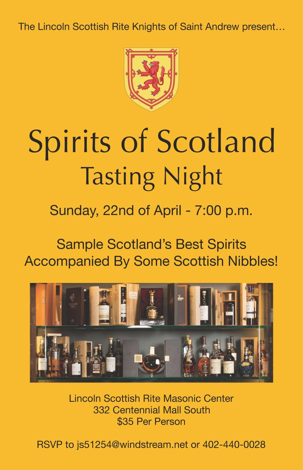 Click image above to download a PDF of the Spirits of Scotland Tasting Night flier.