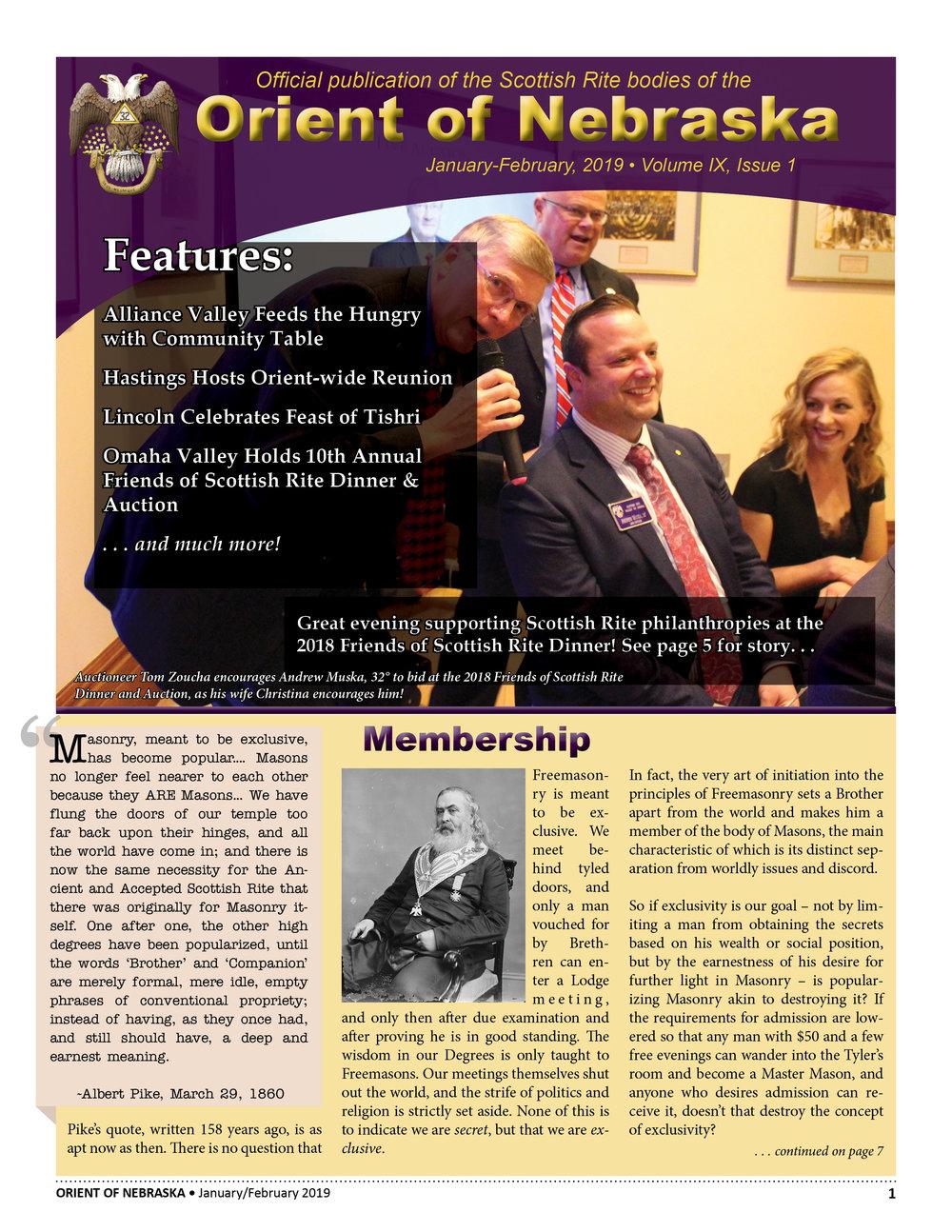 January-February, 2019 Volume IX, Issue 1