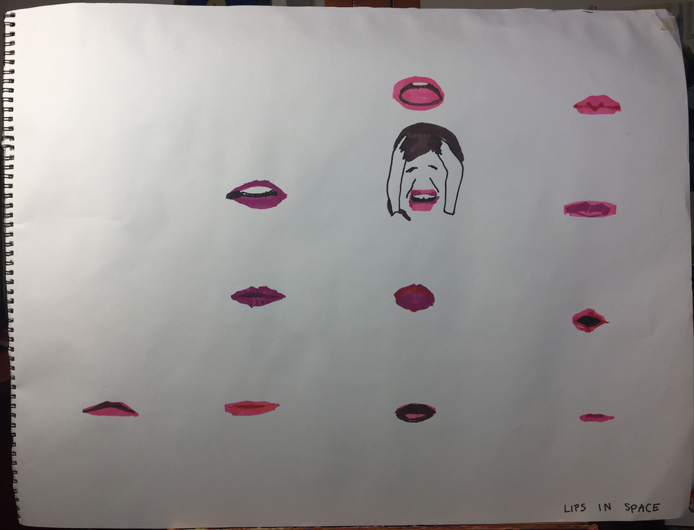 Lips In Space