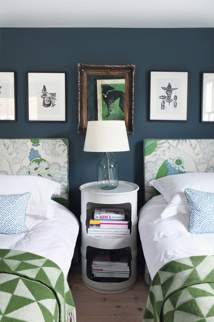 turning an empty next to a double-twin guest room — Work Room C