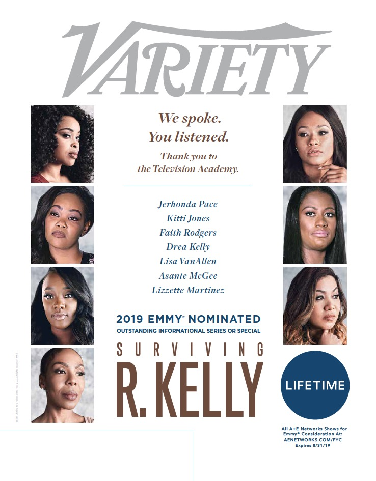 Client News: Emmy Nomination x Surviving R  Kelly — Shay M