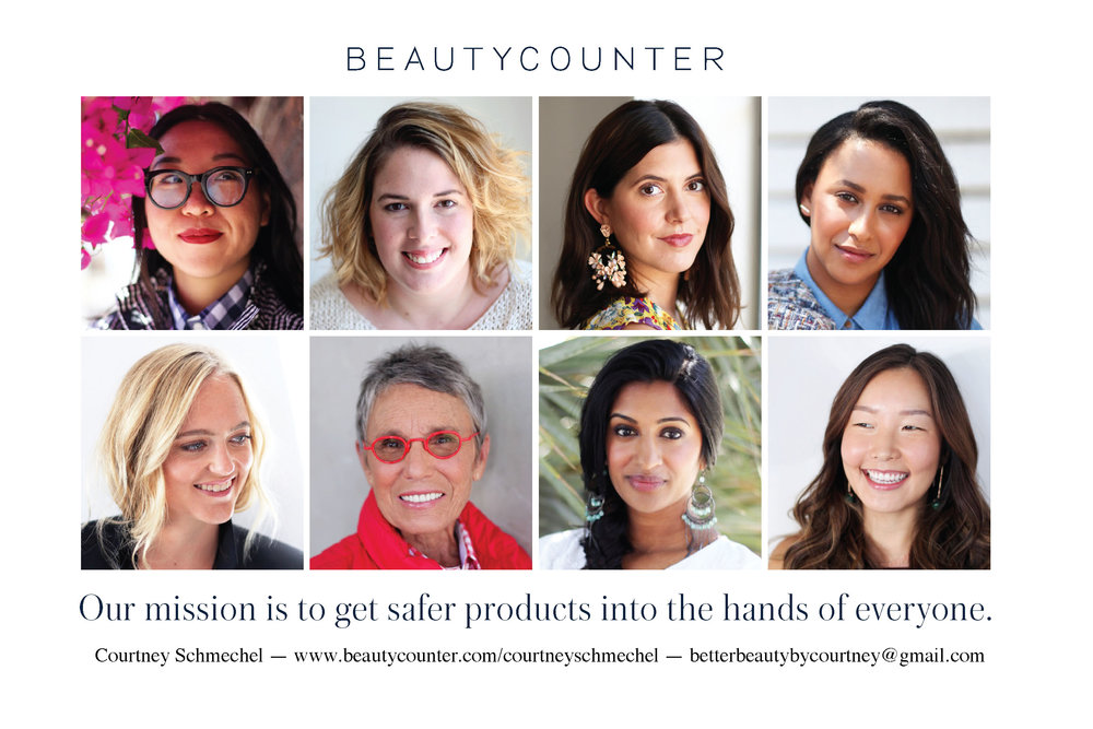 "5 Reasons I Love Beautycounter <3      Have you ever watched the Full House episode where D.J., so desperate to fit in, gets into all kinds of trouble for wearing a face full of gaudy make-up?? Then Aunt Becky patiently teaches her that, ""the secret to wearing make-up is to make it look like you aren't wearing any…""   How?   ""…by bringing out D.J.'s natural beauty.""     Beautycounter may not have been around in the late 80's, but I'm sure the whole Tanner family would have been on board. This company is safe, effective and easy to use. I love the idea of bringing out a woman's natural beauty…to highlight not only their physical features, but their inner beauty and health as well. Beautycounter allows women to express themselves in a natural, safe, healthy way.  I began my love affair with Beautycounter a few years ago. After getting to know the company and all that they stand for, I can't imagine myself using any other brand for my makeup and skincare needs. Here are my  top five reasons I love   Beautycounter :      1.      Peace of mind.      Beautycounter gives me peace of mind like most other brands do not. They are completely safe for me and my whole family! The company was started by a wife and mom, just like me, who decided to take action when her eyes were opened to the use of harmful ingredients in so many beauty products. Check out their story  here .     I love knowing exactly what ingredients are in the products I use on a daily basis and am comforted knowing that my family and I are safe from potentially hazardous substances which are found in so many retail products across the country.      2.      It works.      Not only is Beautycounter safe, but it also WORKS! The skincare line is gentle, effective and was truly the first product to WOW me. With my combination skin, it can be tricky to find something that actually works, but Beautycounter brought a refreshing balance and radiance to my skin that I haven't had in years. A few of my personal favorites are the  Cleansing Balm  and  Countermatch Eye Rescue Cream . I highly recommend them!      3.      Self-Love.       As a stay-at-home working mother, it's so easy to slip into a routine of rolling out of bed, wearing yoga pants all day and letting my general self-care slip. But, I find that, while I may not  need  to dress up, I am far more productive and feel better about myself when I take the time to dress my best and put myself together each day.     Beautycounter helps me to be excited to get ready in the morning and make me feel ""fancy"" in the midst of drooling babies and snotty toddlers. Mamas need to take the time to love themselves each day, and Beautycounter has brought that back into my daily routine, not matter what responsibilities are on my to-do list.       4.      Simple & easy.      With that being said, busy moms and women on-the-go need a quick routine to get up and moving. Whether you are tackling an 8am meeting or a mountain of dirty laundry, Beautycounter makes it possible to pull yourself together in 5 minutes or less! I have found all the products to be simple and easy to use, but the  Flawless in Five  set is especially designed for a quick and easy look that would make Aunt Becky proud.      5.      Transparency.      Beautycounter raises awareness to thousands of unregulated chemicals on the market in the United States. They have a whole list of products called the  ""Never List""  which they have committed to never use in any of their products from makeup to skincare to bath and body products. There are more than 1,500 products on the list which are harmful or questionable but are not currently being regulated by the U.S. government.     They are a transparent and progressive company, not only sharing their ingredients but avoiding harmful ones, ""…all while ensuring our products perform and that they're as indulgent as any other luxe shampoo, lipstick, or oil in the market.""     Are you convinced yet? If you want to take your beauty routine to a new level of safety, quality and ease, check out Beautycounter. I am offering FREE hostess rewards in the month of February!!! To start your love affair with Beautycounter  get in touch !"