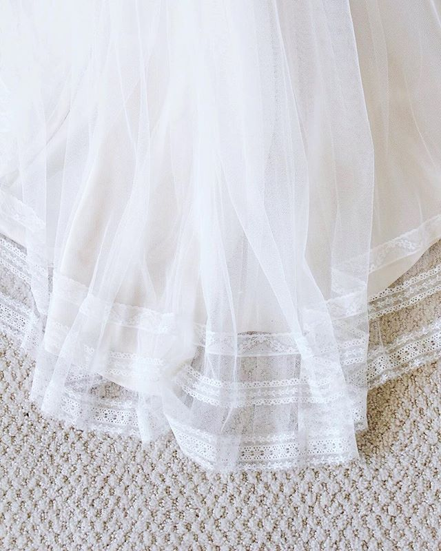 Crushing on this vintage inspired lace trim on this gorgeous boho gown! #yourperfectsilhouette #silhouettebridal