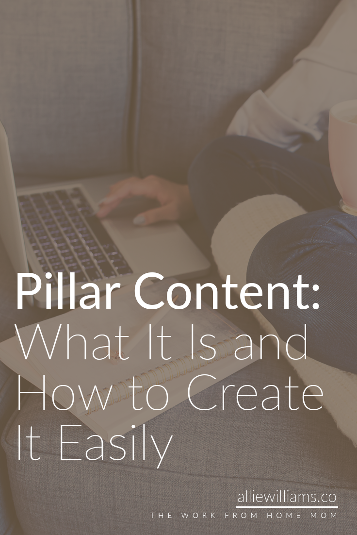 """Do you ever wonder what makes a particular blog so successful? Or perhaps why you see their content being shared over and over again? Perhaps it's because they've been blogging for 17 years… or perhaps it's because they have what I call """"Pillar"""" content. When you think about the old buildings in Rome with no walls, they were held up with four pillars. Odds are, each room in your house has four corners. When a car drives, it has four wheels. These are foundational necessities that make the structure whole."""