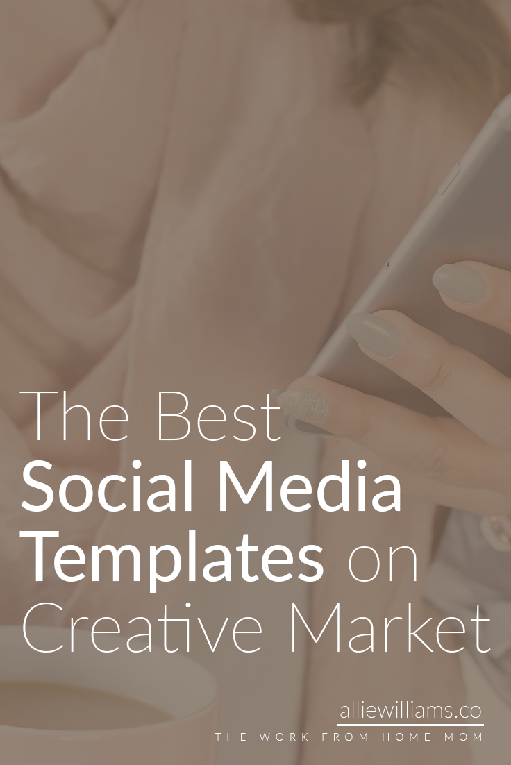 The 10 Best Social Media Templates for Bloggers on Creative Market