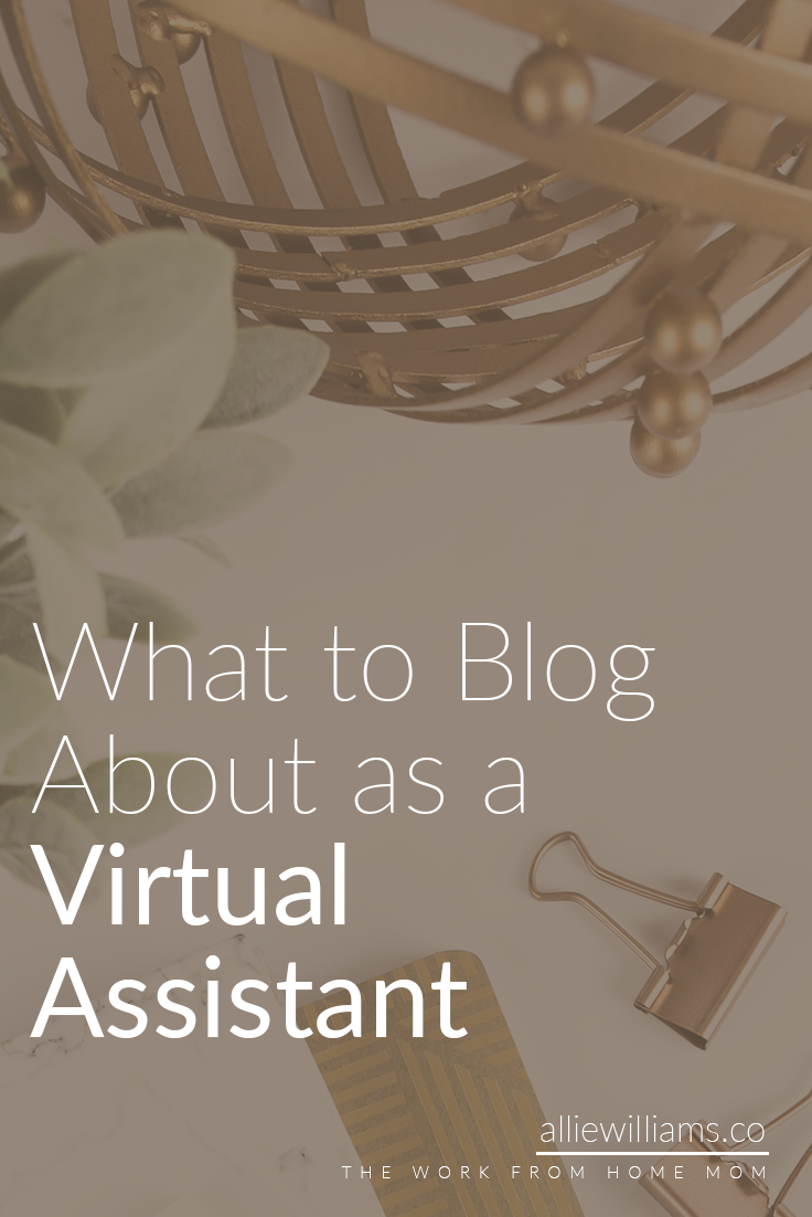 """Always make sure to address the problem in the title of the blog post, too. For example, instead of making the title of THIS blog post """"What the heck do I even blog about?!"""" which I COULD'VE done, I went with """"What to Blog About as a Virtual Assistant"""" because other virtual assistants (or those who want to become one) are my target audience. Include your target audience in your blog post titles to draw them in."""