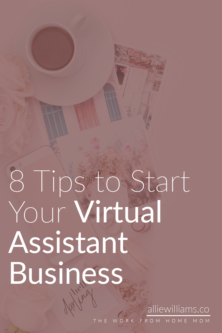 """This is going to be a beast of a post because starting your virtual assistant business is NOT something to be taken lightly. I wanted to create a step by step guide for those of you who feel like, """"I want to do this but I have no idea where to start!"""" I know; I've been there.When I first started, I was like...so...what do I do with hands? It was awkward on every level because I had no direction. But you know what? As soon as I identified my target audience, everything became easier! Here are 8 tips to start your virtual assistant business."""