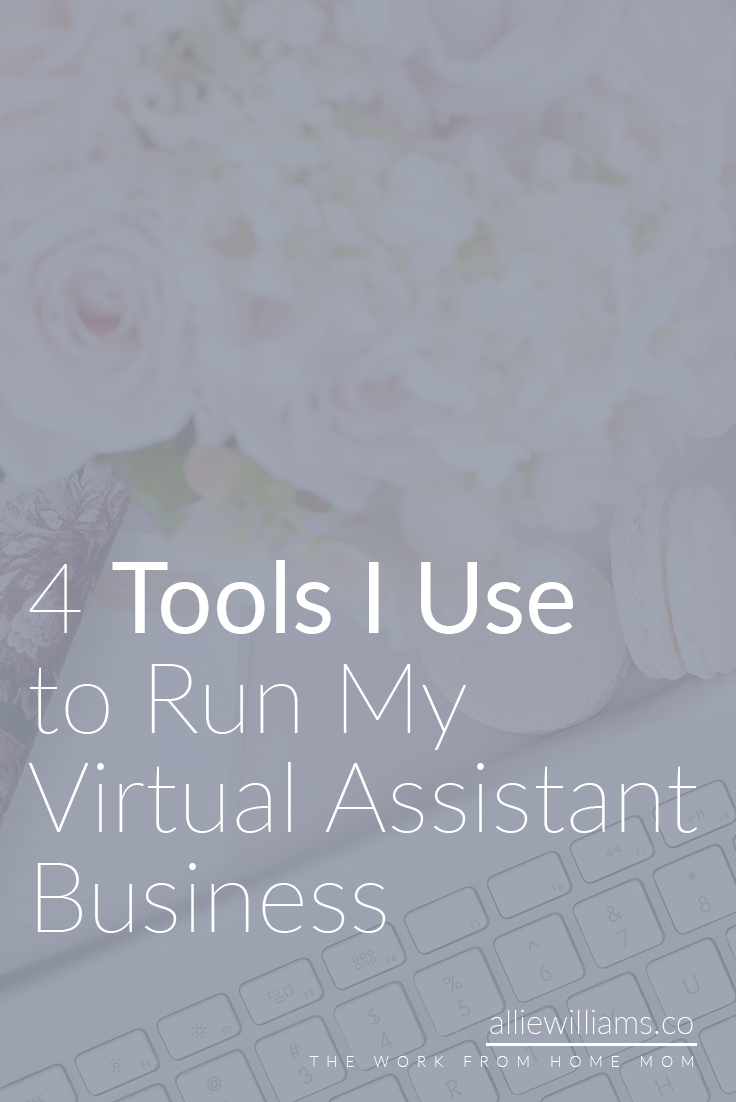 When you're first starting out, there is an overwhelming amount of tools available to you. What do you use?! How do you CHOOSE?! I am here to support you! I made a list of the EXACT tools I use to run my virtual assistant business, and I think it can really help you. Ready to dive in? Awesome.  ***Some of these links ARE affiliate links***   4 Amazing Tools I Use to Run My Virtual Assistant Business